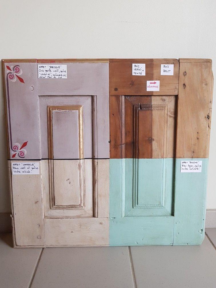 Une #porte, plein de possibilités! #pinceauboheme #artisanat #bois