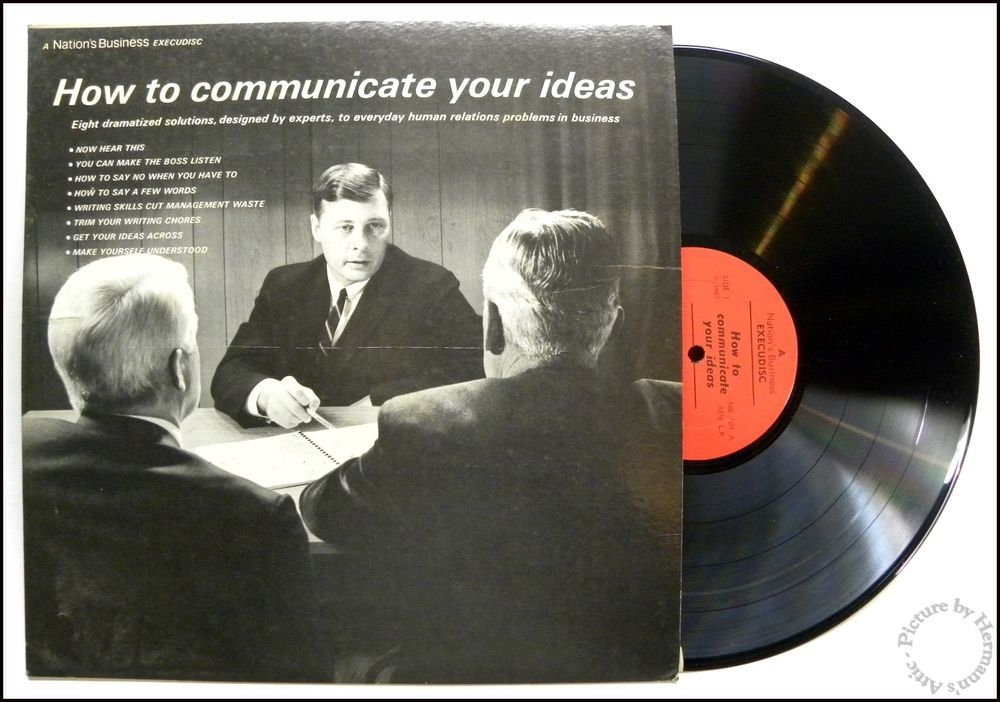 How To Communicate Your Ideas, Business Training Record, Gotham NB-101, 1967