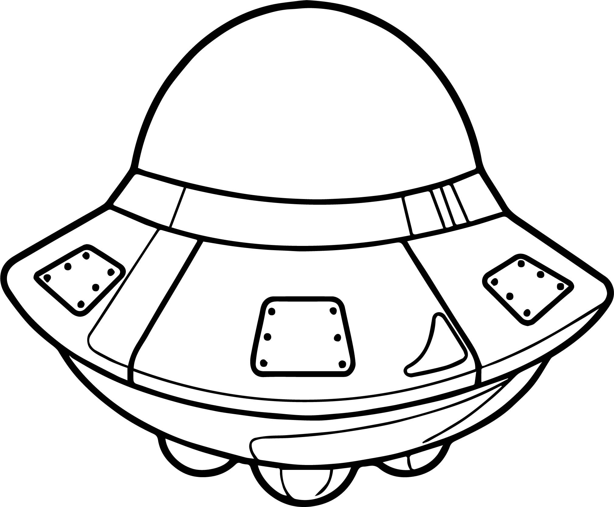awesome Astronaut Space Vehicle Coloring Page | Coloring ...