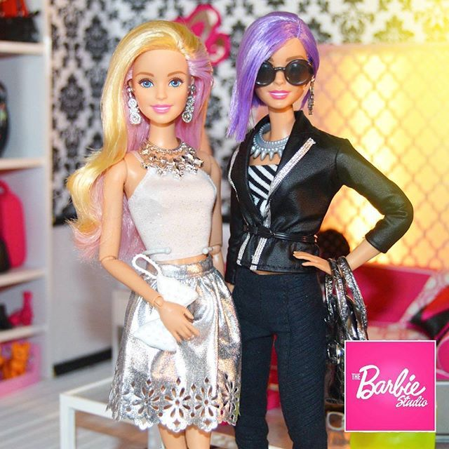 Trendsetters. *tongue pop* #barbie #dolls #dudeswithdolls #fashion #instastyle #barbiedoll #dollcollector #barbiestyle