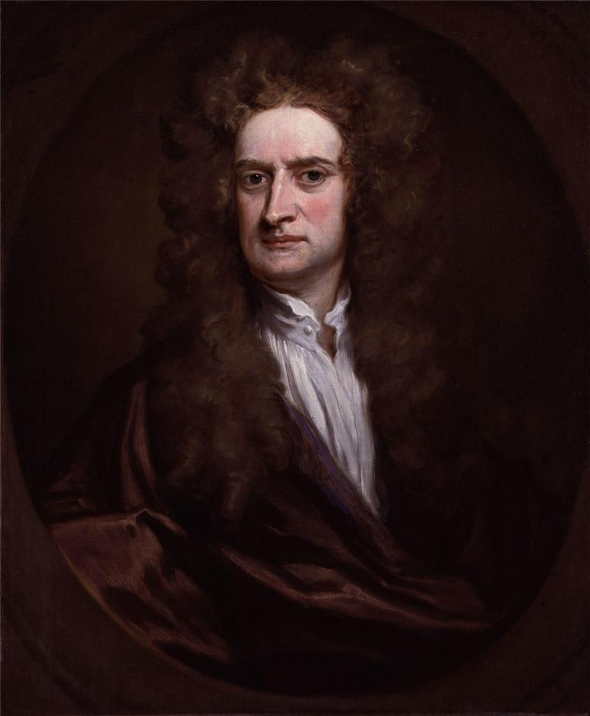 Details About Sir Isaac Newton Glossy Poster Picture Photo Law