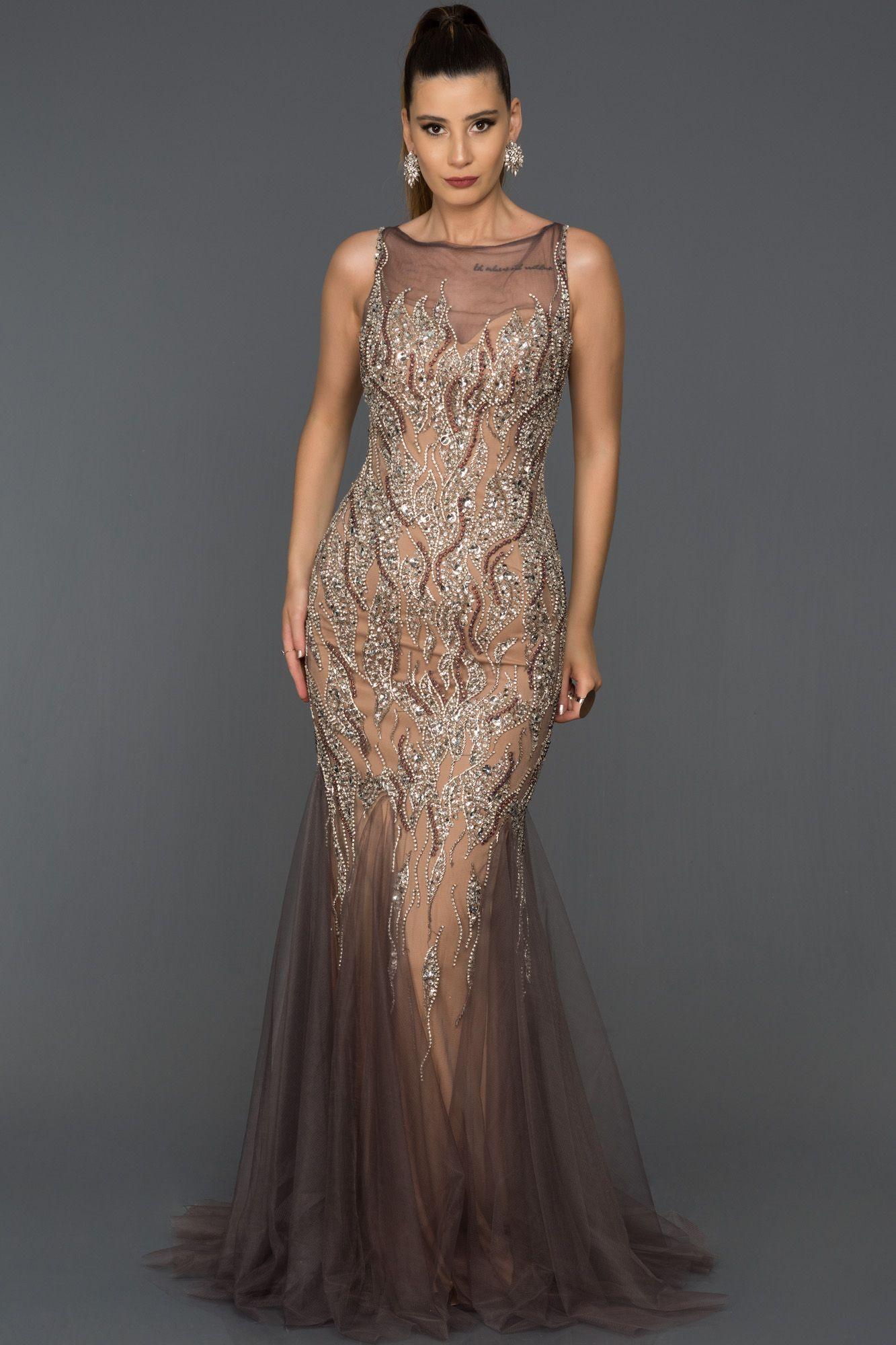 9f9d71495bd95 Taşlı Özel Tasarım Abiye AB829 | Bayan Giyim in 2019 | Elbise ...