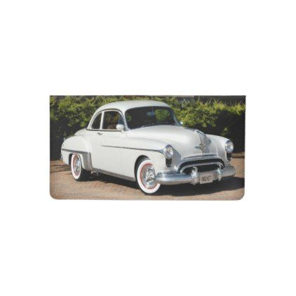 1949 Olds Rocket 88 | Oldsmobile Classic Car Checkbook Cover - classic gifts gift ideas diy custom unique