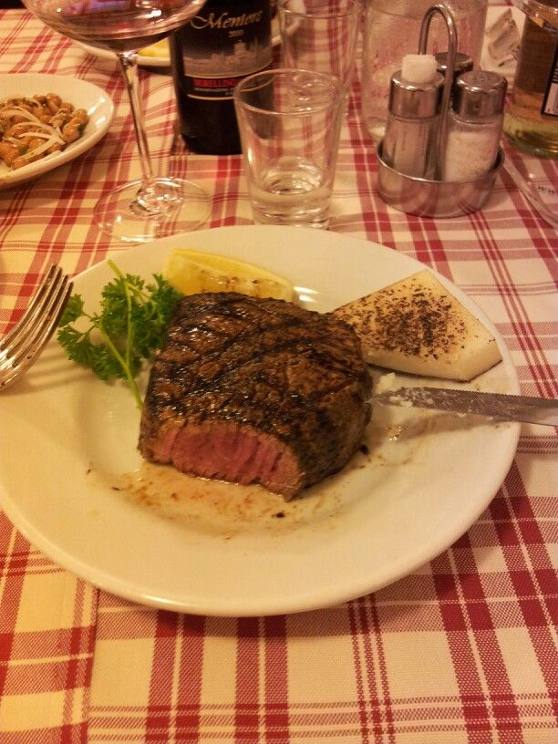 Filetto al sangue!!!!