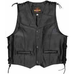 Lederwesten #leatherjacketoutfit