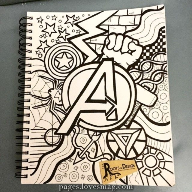 In honor of me promoting in a comic book e-book right this moment and tomorrow I made a dood of the Avengers