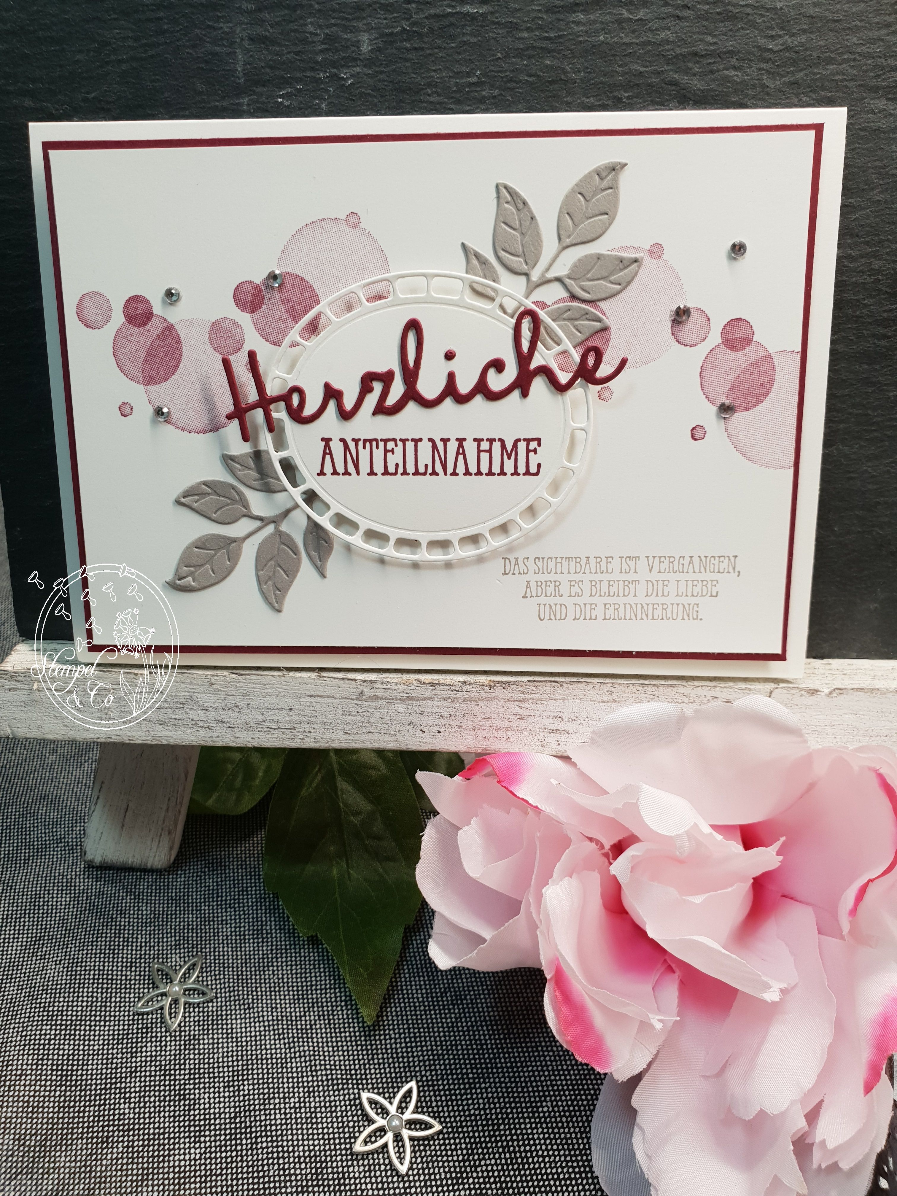 Stampin´Up, Trauerkarte #stampinup!cards