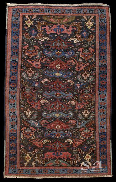 Bidjov Caucaso Nord Orientale Fine Del Xix Secolo Lana Su Lana 188 X 118 Cm Tappeti Tappeti Antichi Tappeti Orientali