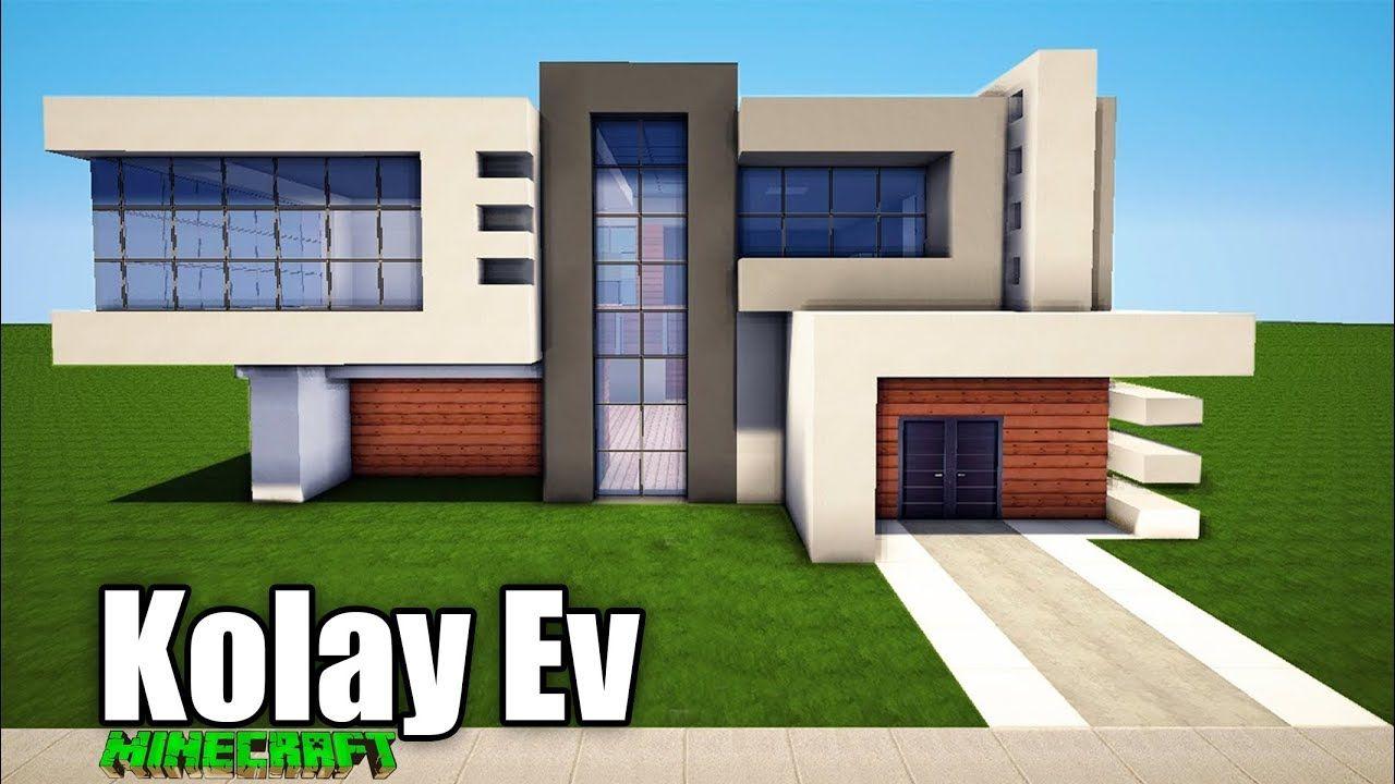 Minecraft Ev Yapimi 2 Minecraft House Blueprints Minecraft Evleri