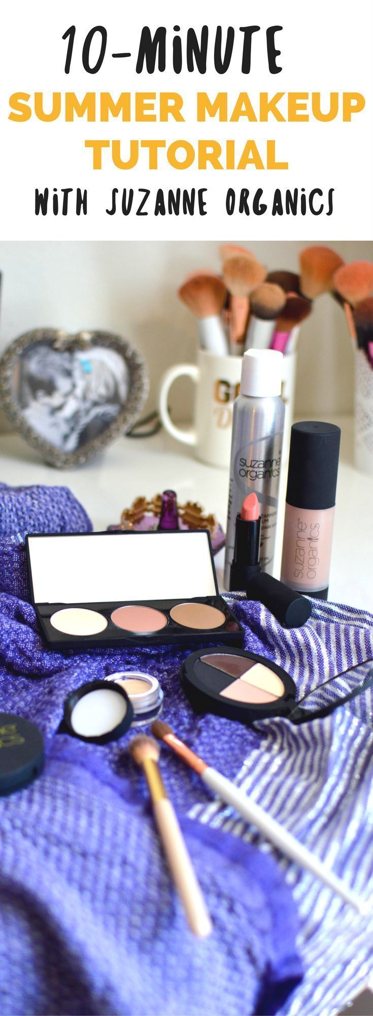10Minute Summer Makeup Tutorial with Suzanne Somers