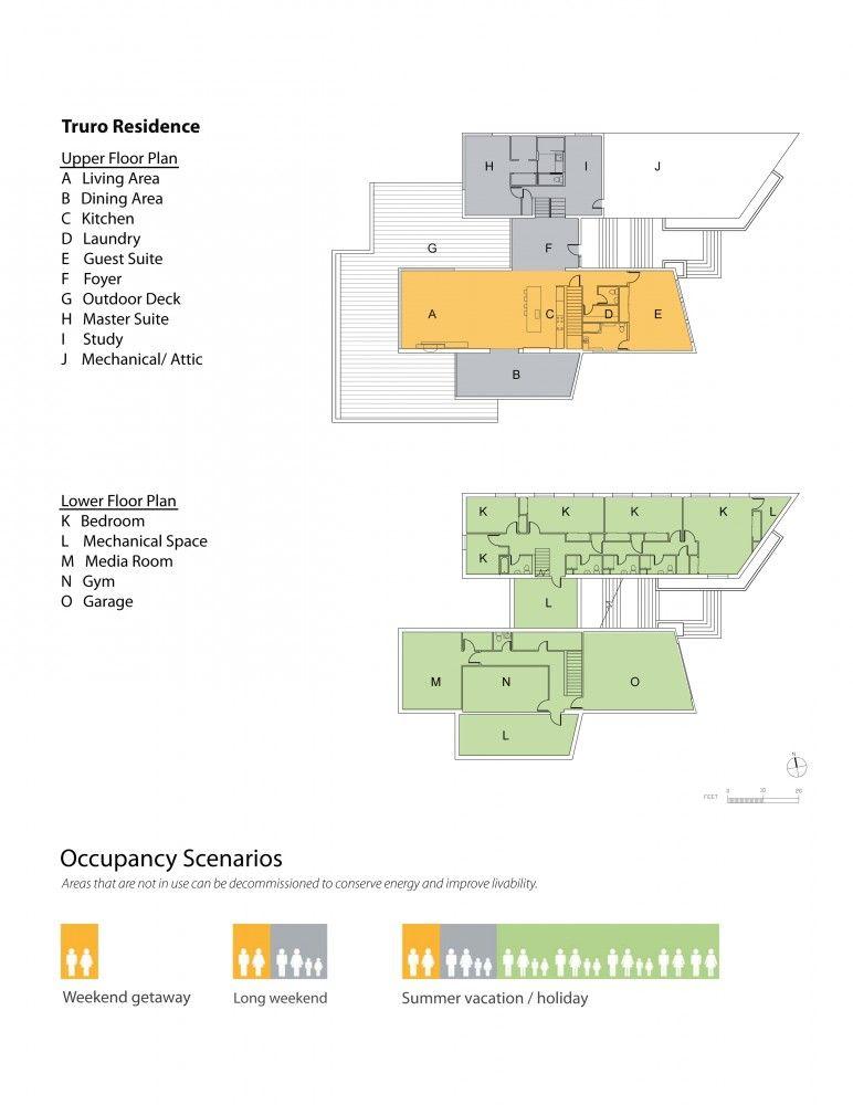 Truro Residence / ZeroEnergy Design Truro, Architectural drawings