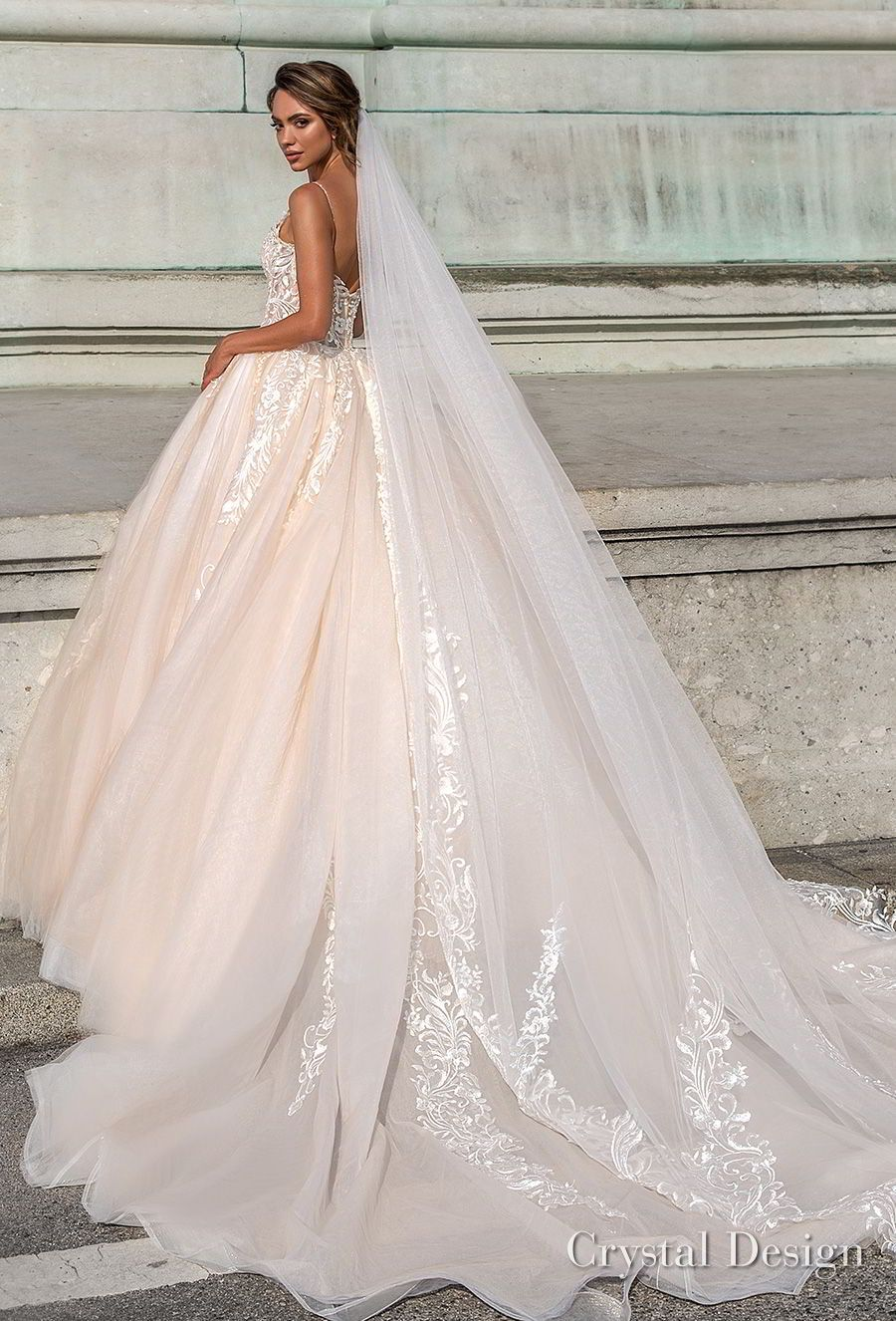 Ball gowns wedding dresses  Crystal Design  Wedding Dresses u ucRoyal Gardenud u Haute Couture