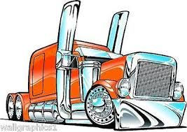 Image Result For Cartoon Semi Truck Images With Images Truck