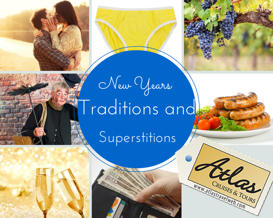 New Years Traditions and New Years Superstitions...do you