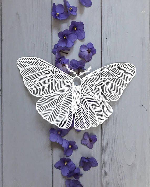 Art paper cutting quot butterfly small papercut micro cut