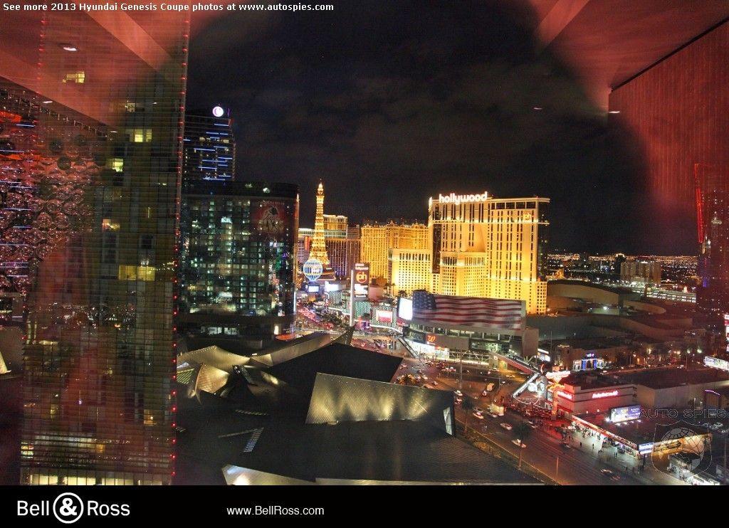 View from Mandarin Oriental Las Vegas Suite