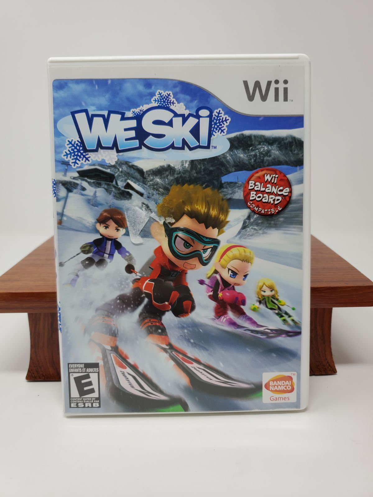 Balance board compatible wii we ski gamethats right