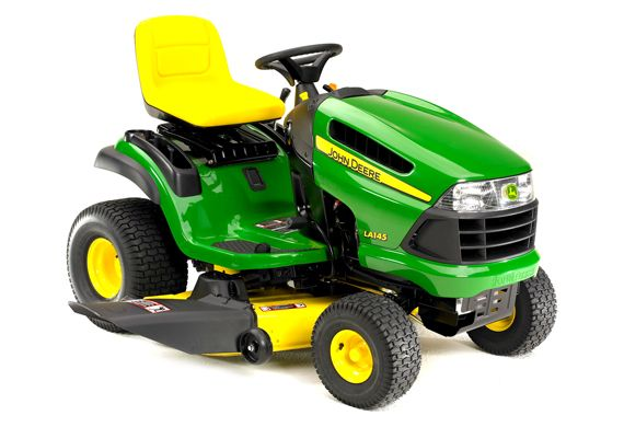 John Deere La145 Lawn Tractor See Prices Review Video Test