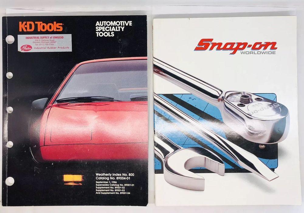 Snap On Tools Catalog 1991 1992, 100 - KD Tools 89004-01 (9