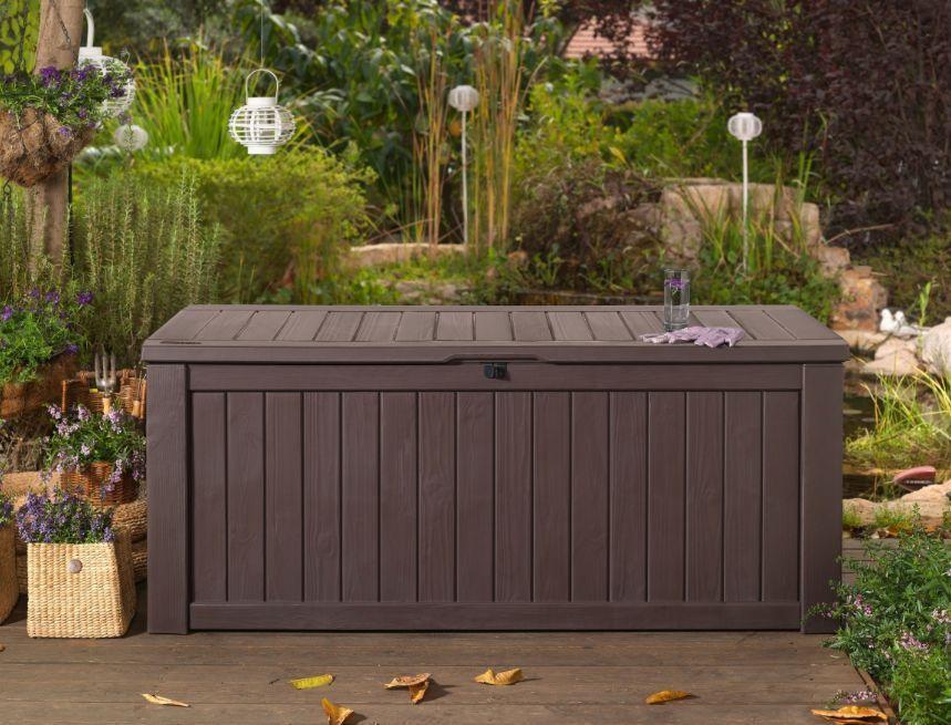 Extra Large Waterproof Garden Storage Box Seating Garden Patio