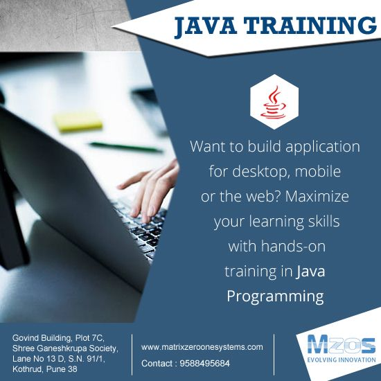 If You Re Planning To Enter Into The World Of Java To Make A Career You Can Take Up Java Classes At Mzos Pune Even A Begi Skills To Learn How To Plan