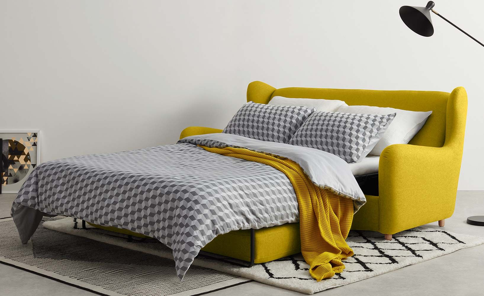 6 stylische Schlafsofas für unter 500 Euro Mobiliario