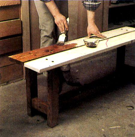 Comment fabriquer un banc? DIY furniture, Farm house and Woods