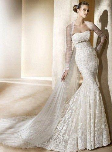 8cceee123e5ca Balık etek gelinlik modelleri - sade kadınlar | evlilik konsepti ...