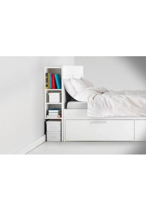 Ikea Brimnes Headboard With Storage 180cm White