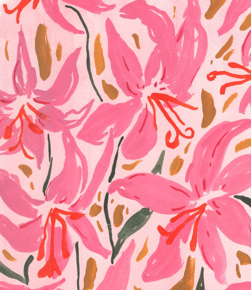 A Week Full of Pattern with New Orleans Artist Juliet Meeks