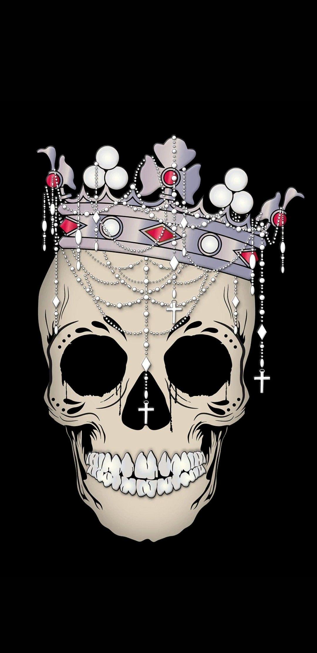 Pin by NikklaDesigns on Skull / Skeleton Wallpaper | Skull ...