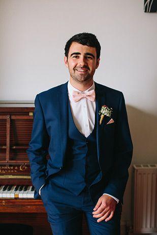 A Symphony Of Love Gillian Alan In Ballinacurra Onefabday Com Groom Suit Navy Groomsmen Attire Navy Blue Wedding Suits Men