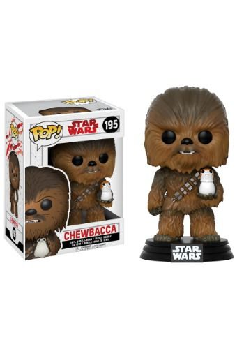 Add to your Star Wars collection with the Star Wars The Last Jedi POP Chewbacca Bobblehead Figure.