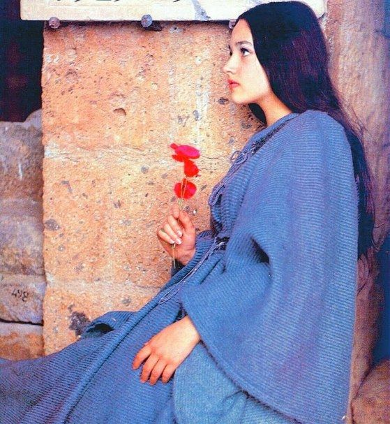 Olivia Hussey, in Romeo and Juliet, 1968.