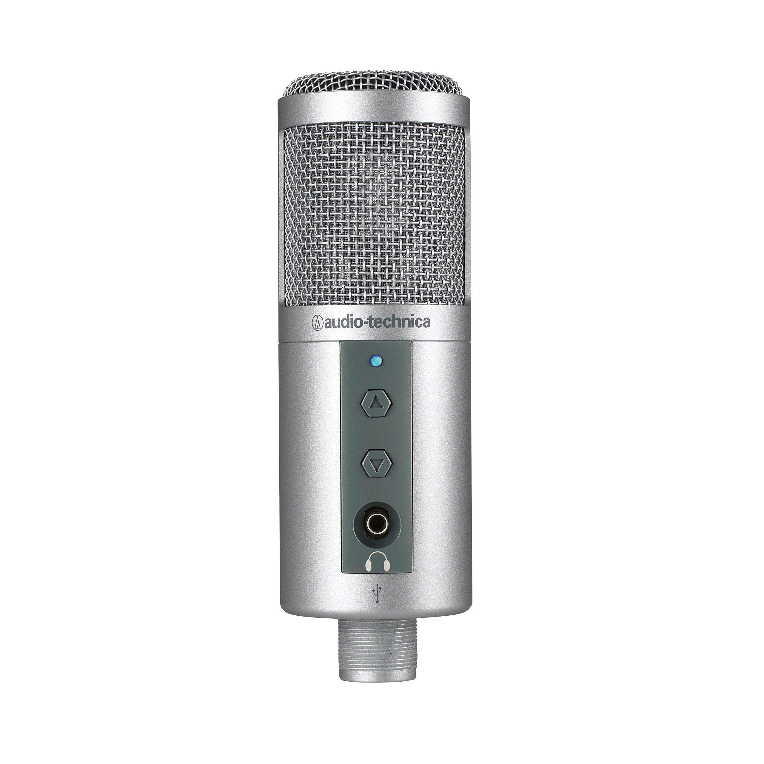 Audio Technica Atr2500 Usb Cardioid Condenser Usb Microphone Usb Microphone Best Usb Microphone Audio Technica