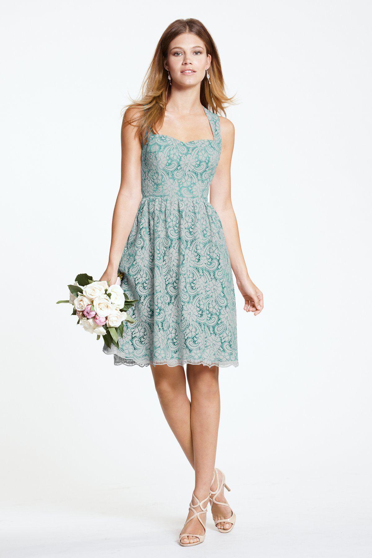 Watters Maids Dress Sisley | Wedding attire | Pinterest | Maids ...