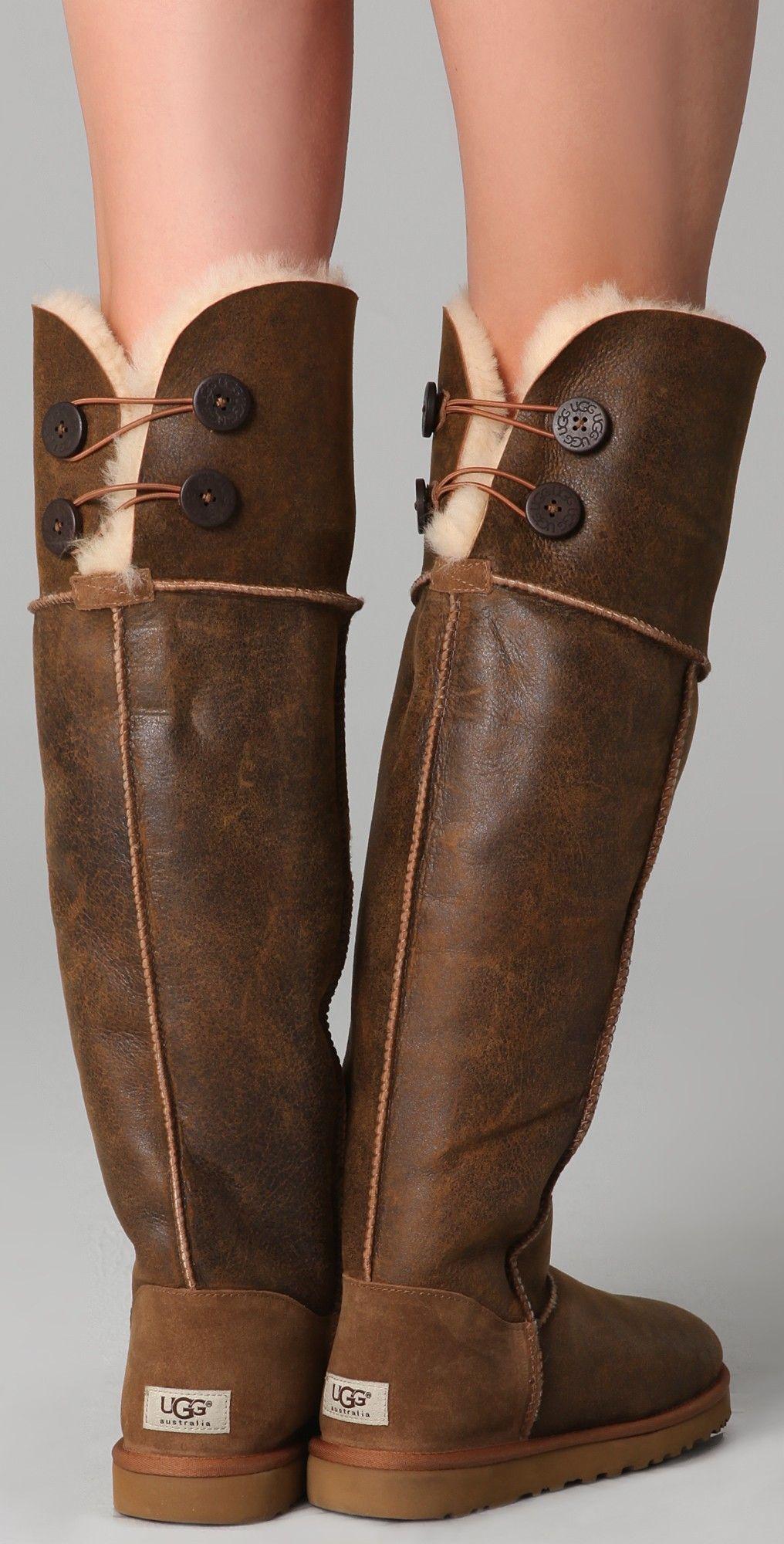 Knee Bailey Button Boots | SHOPBOP