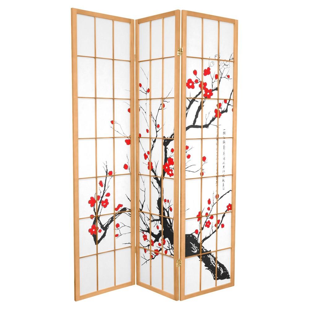 ft tall flower blossom divider black panels tall flowers