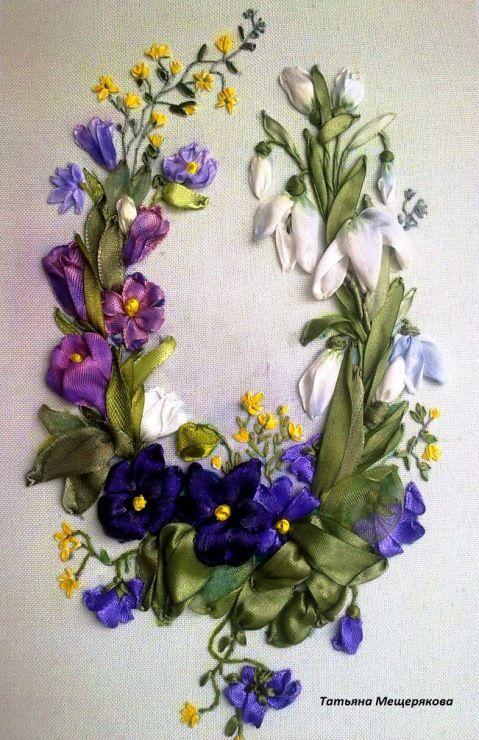 (25) Gallery.ru / Водяные лилии - Мои вышивки 2014 год - mtv-crim