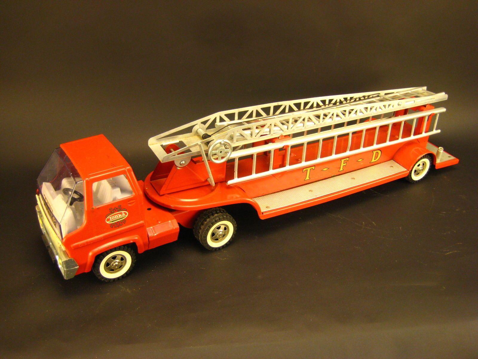 Tonka T F D Hook & Ladder Gas Turbine Fire Truck