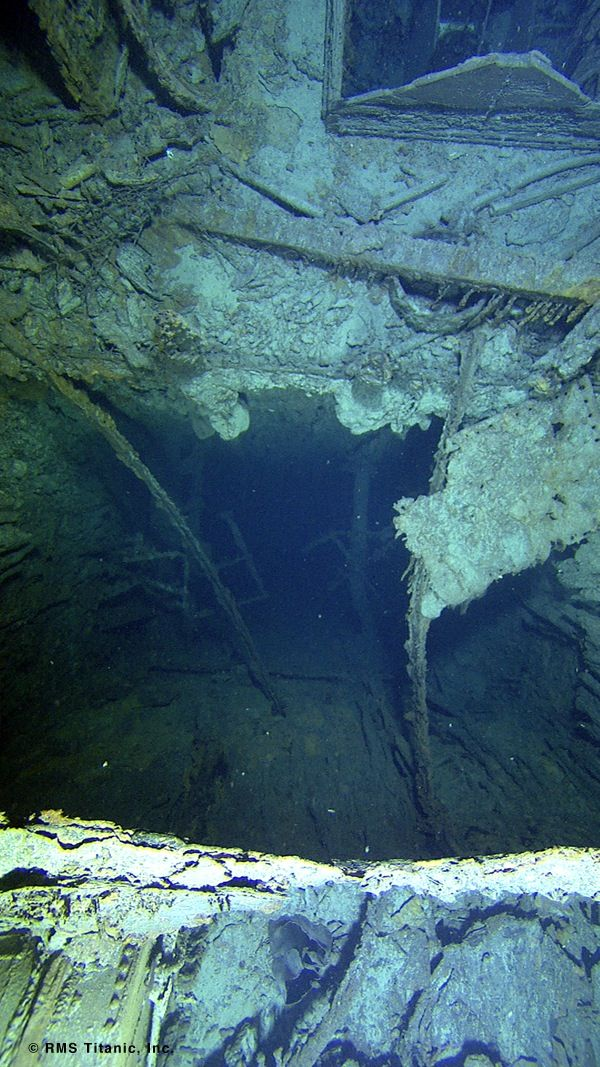 Titanic Engine Room Coal: Pin On Under The Sea