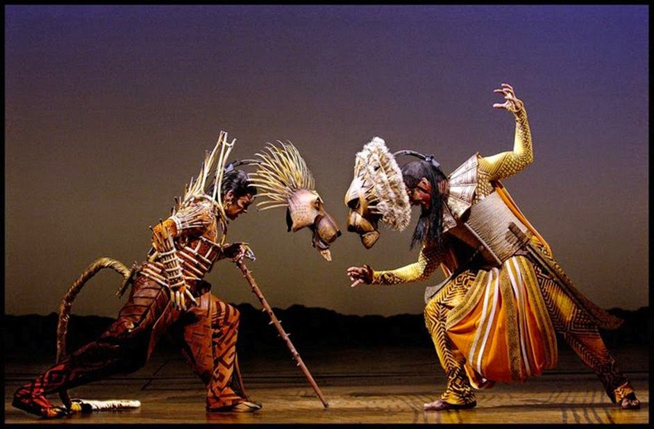Lyceum Theatre London Magic Of The Lion King At Lyceum