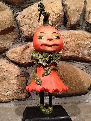 DEBRA SCHOCH for Bethany Lowe Halloween - PUMPKIN BLOSSOM - NEW Fall 2014