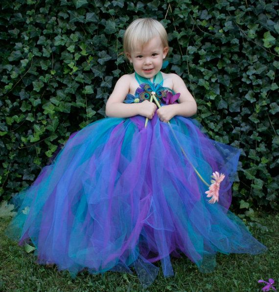 Hey, I found this really awesome Etsy listing at http://www.etsy.com/listing/109874522/peacock-flower-girl-tutu-dress-peacock