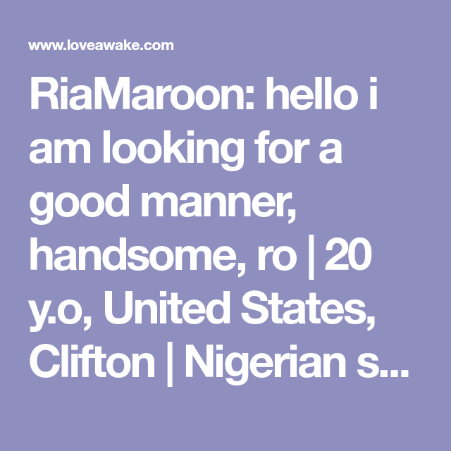 hello i am looking for