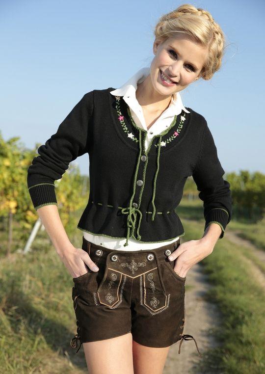 MARJO Lederhose Damen  Wiesn  Oktoberfest  Trachtenmode   HeidisTrachten.de 062d6585dc