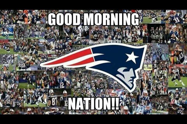 Good Morning Patriots Nation It S Game Day Go Pats New England Patriots Game New England Patriots Football Patriots Fans