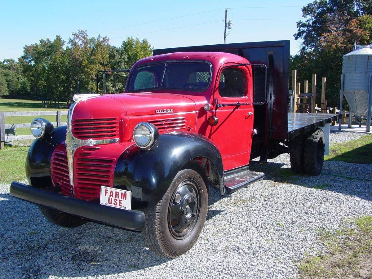 1946 dodge wf a34 flat bed dump truck for sale 1728230 hemmings motor news