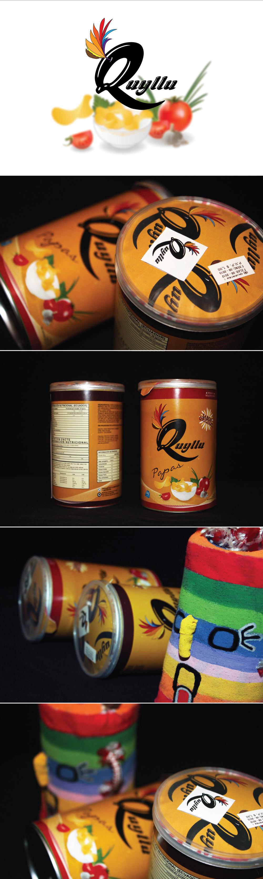 Diseño de imagen y Packaging de marca Quyllu por Fernando Terán