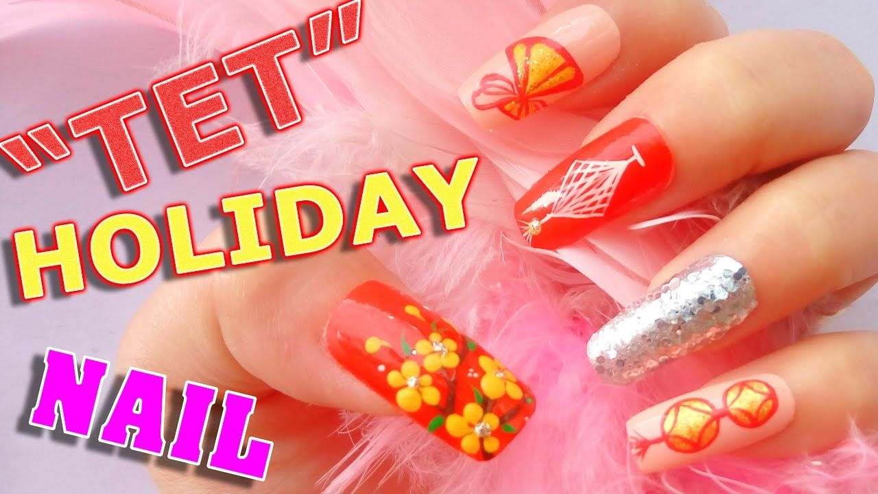 Nail Art Tutorial for New Years Nails 2017 - Special Nail art design ...